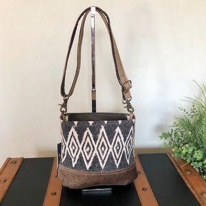 Handbags - Myra bag Azure Printed Crossbody NWT
